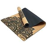 Yoga Design Lab   Die Kork Yogamatte   Umweltfreundlicher Ideal für Hot Yoga, Power, Bikram,...